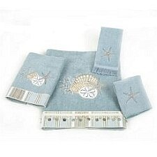 By the Sea 100% Cotton Washcloth by Avanti Linens